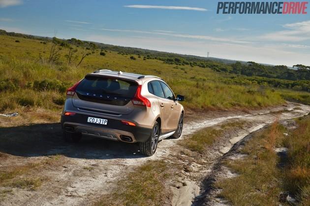 2014 Volvo V40 Cross Country T5-dirt