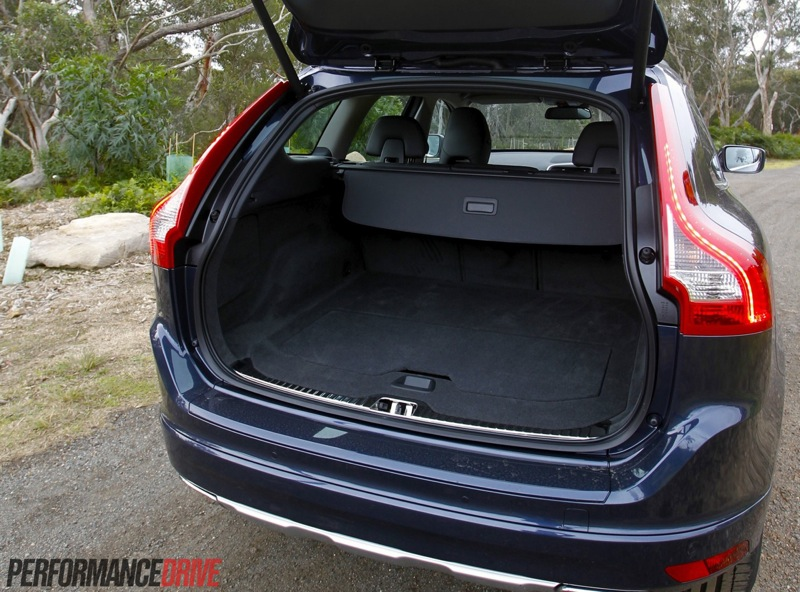 xc60 boot space