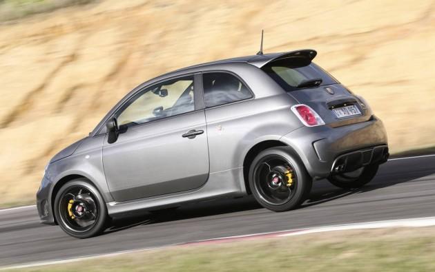 2015 Abarth 595 Competizione-rear