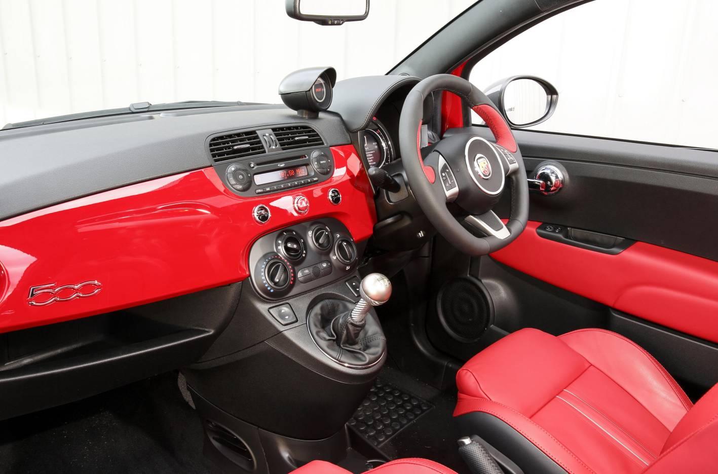 Abarth 595 turismo competizione announced for 2015 lineup performancedrive - Turismo interior ...