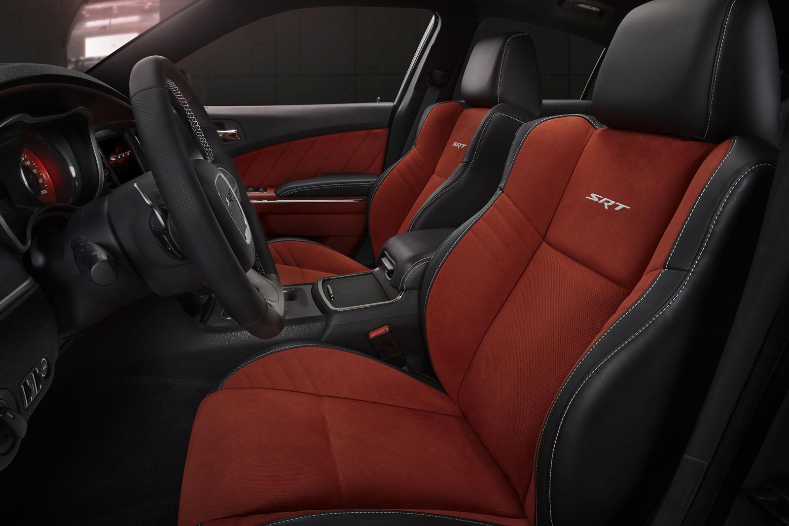 2015 Dodge Charger Srt Hellcat Seats