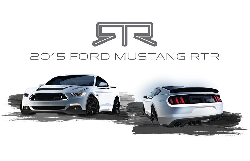 2015 Ford Mustang RTR edition previewed