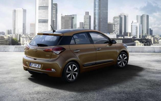 2015 Hyundai i20-rear