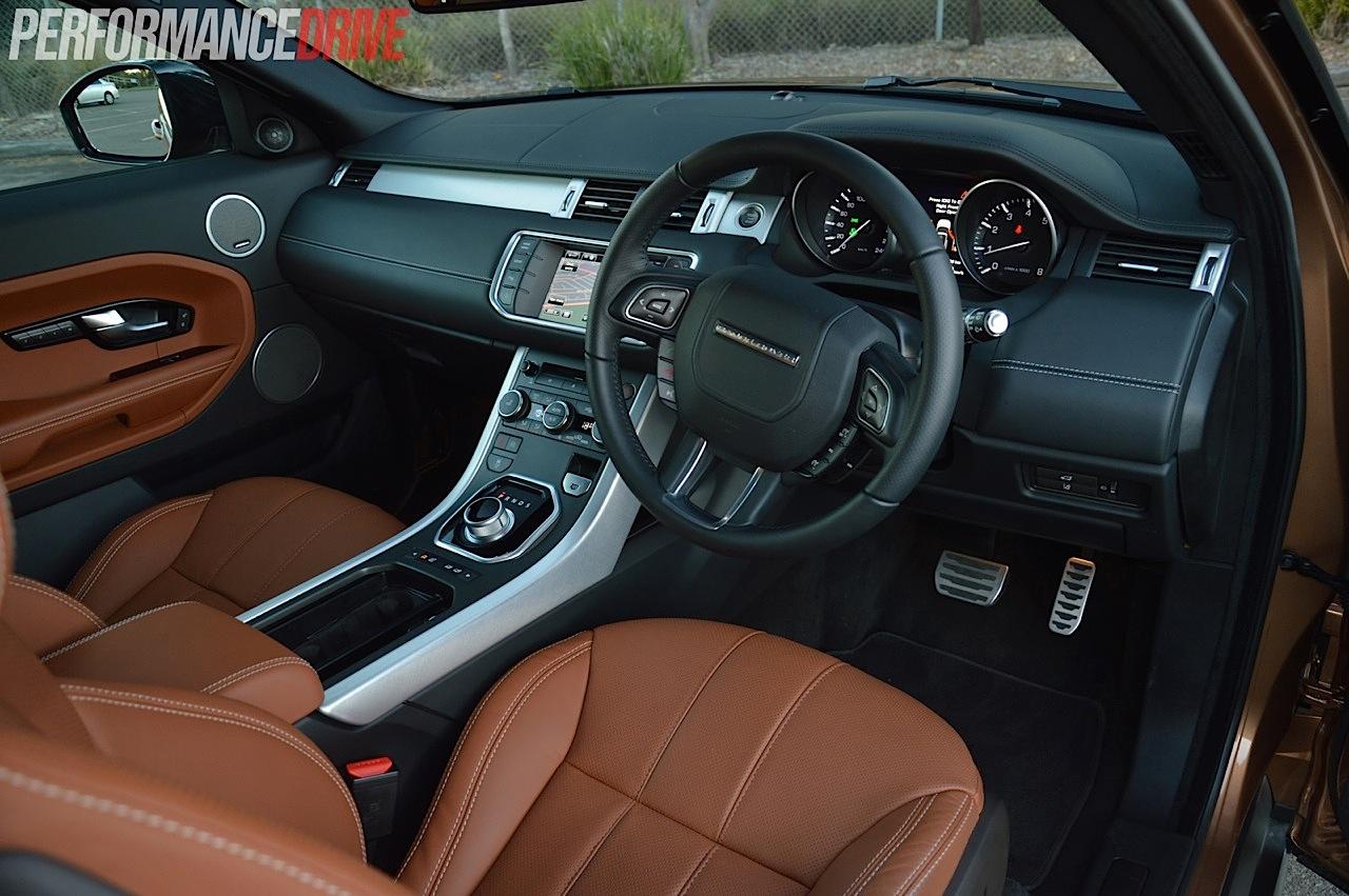 2014 Range Rover Evoque Si4 review video