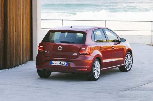 2015 Volkswagen Polo-rear