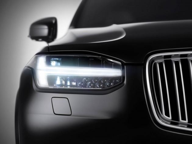 2015 Volvo XC90 headlight