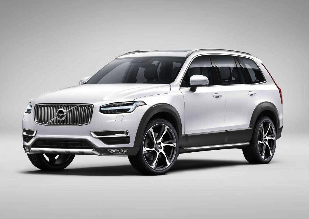 2015 volvo xc90 revealed in leaked images performancedrive. Black Bedroom Furniture Sets. Home Design Ideas