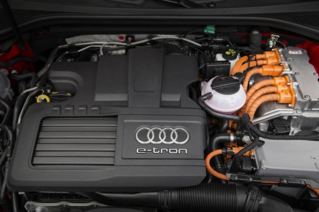 Audi A3 e-tron-engine