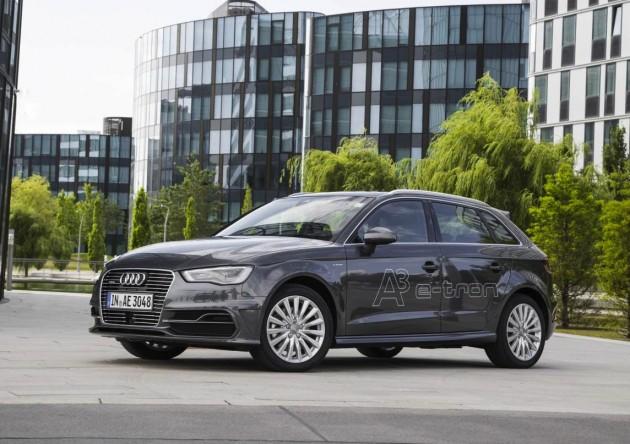 Audi A3 e-tron-grey
