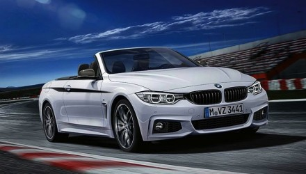 BMW 4 Series convertible M Performance kit