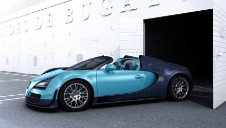 Bugatti Veyron-Jean Pierre Wimille edition