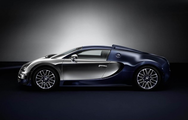 Bugatti Veyron Vitesse Legends Ettore edition-side