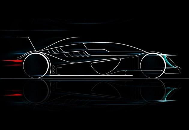 Caparo T1 Evolution-teaser