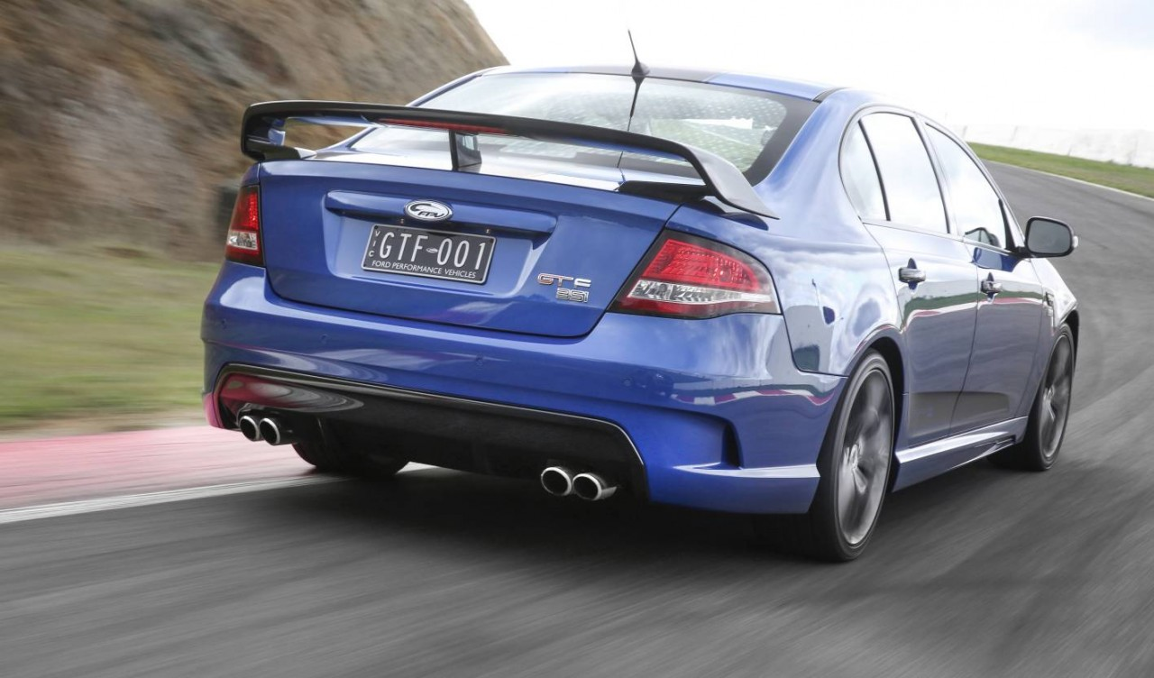 for sale ford fpv gt f build numbers 001 and 500
