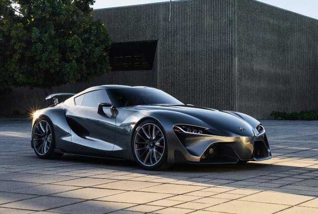 Grey Toyota FT-1 concept