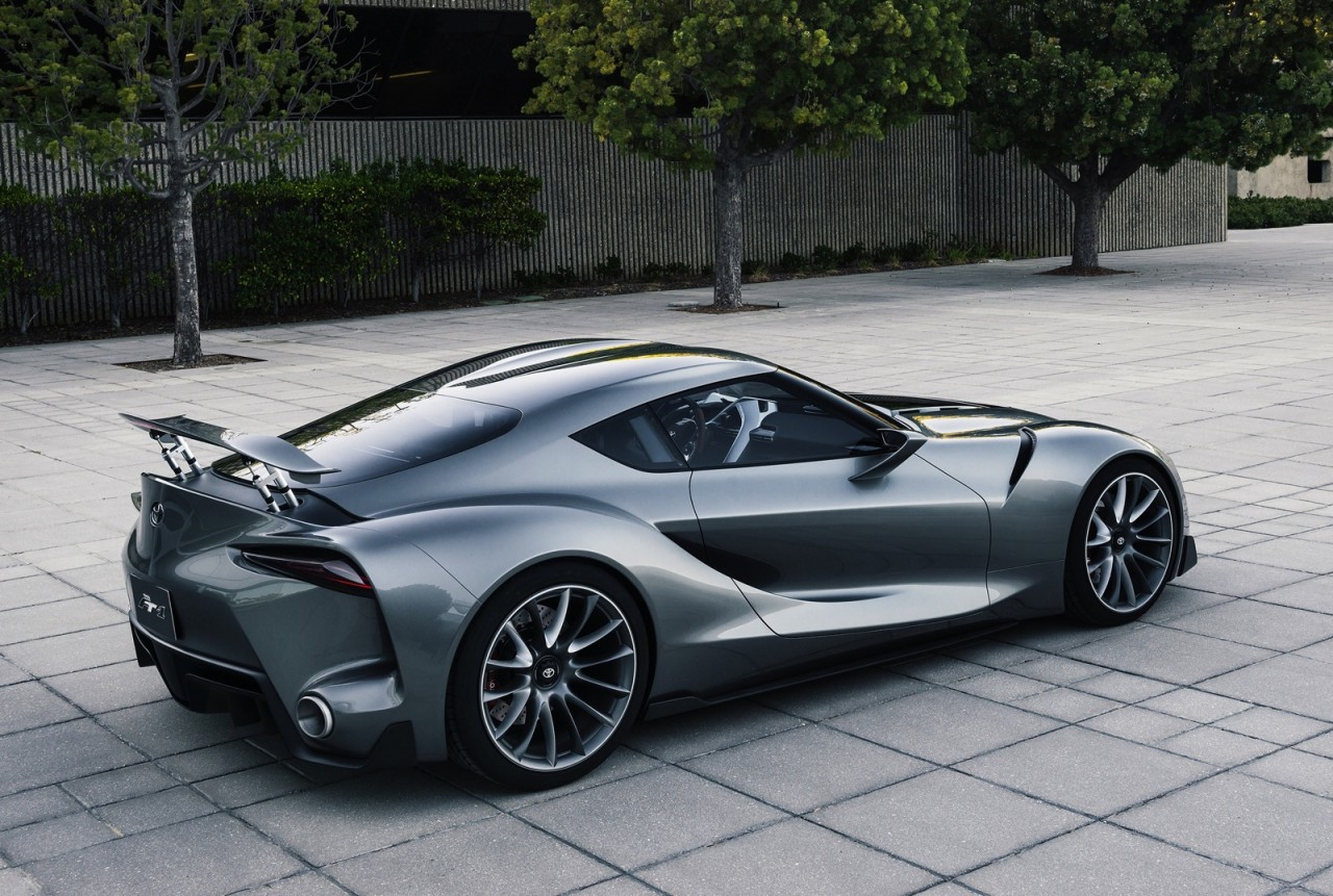 Toyota Ft 1 >> Updated Toyota FT-1 concept & racy Vision GT revealed ...