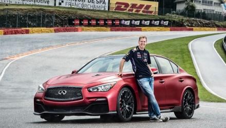 Infiniti Q50 Eau Rouge-Sebastian Vettel