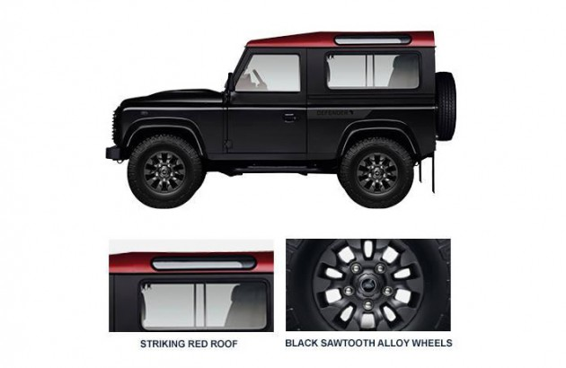 Land Rover Defender Africa Edition