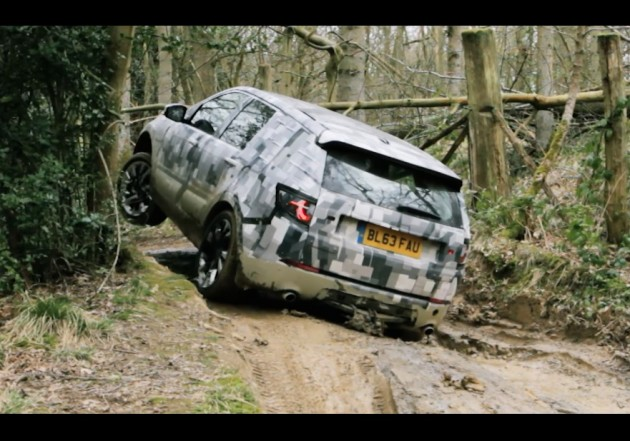 Land Rover Discovery Sport testing