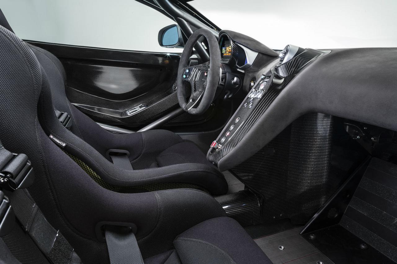 Superb McLaren 650S Sprint Interior