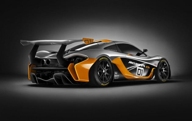 McLaren P1 GTR-rear