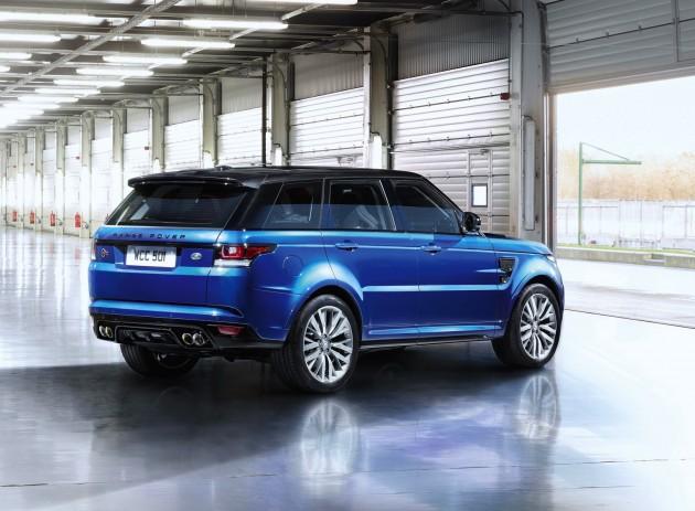 Range Rover Sport SVR-rear