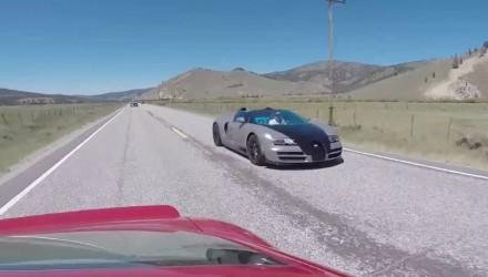 Six Bugatti Veyrons