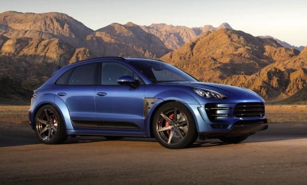 TopCar Porsche Macan wide-body kit