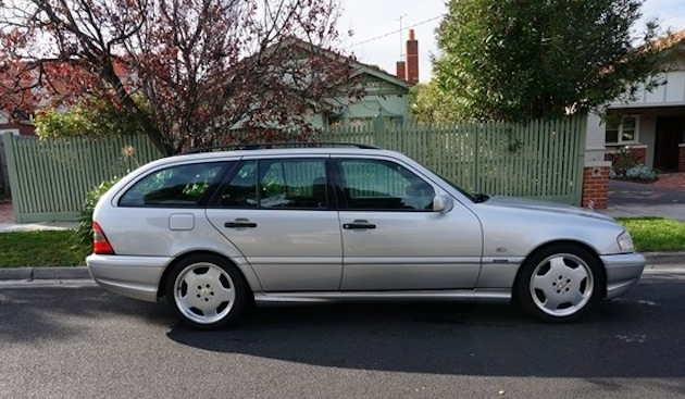 1998 Mercedes C 43 AMG Estate