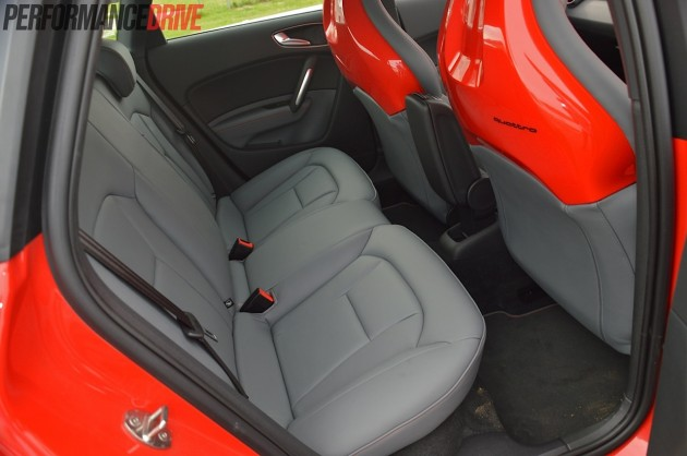 2014 Audi S1 Sportback-rear seats