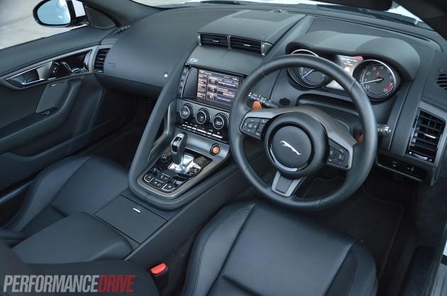 2014 Jaguar F-Type V6 S-interior