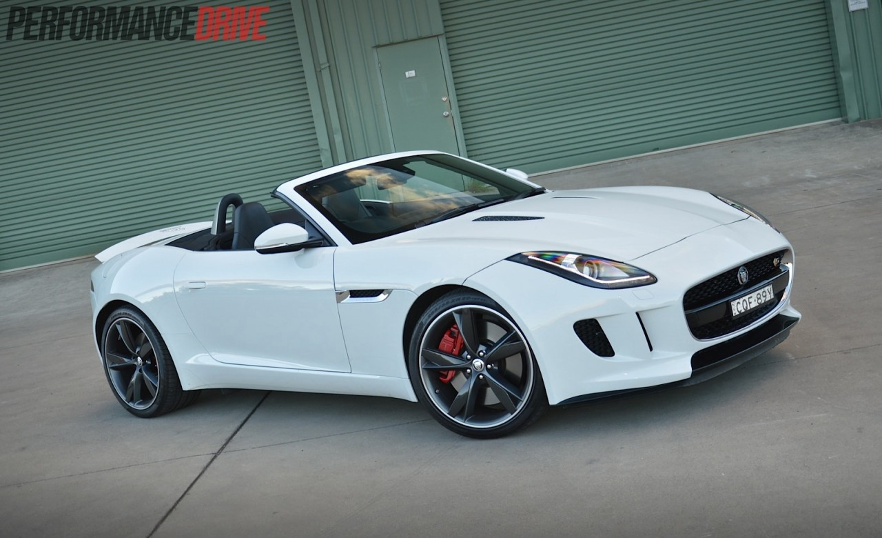 2014 jaguar f type v6 s review video performancedrive. Black Bedroom Furniture Sets. Home Design Ideas