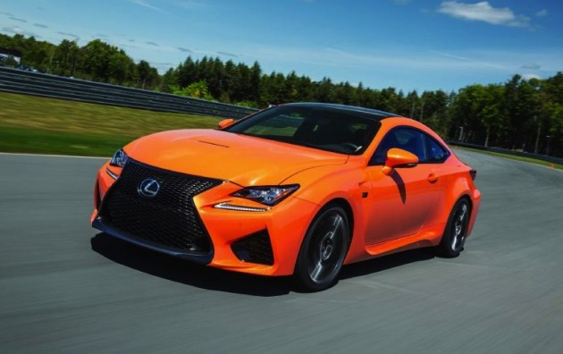 2014 Lexus RC F-orange