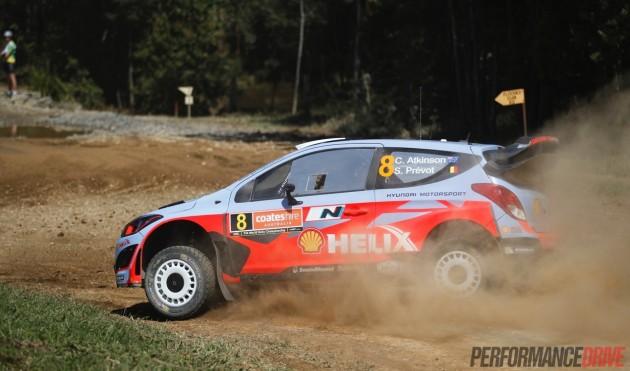 2014 Rally Australia-Hyundai i20 Atkinson