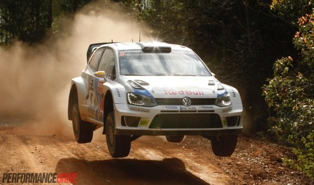 2014 Rally Australia-Volkswagen Polo WRC