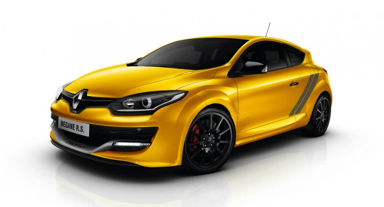 renault megane r s 275 trophy on sale from 52 990 performancedrive. Black Bedroom Furniture Sets. Home Design Ideas