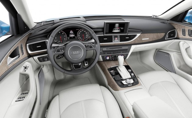 2015 Audi A6 interior