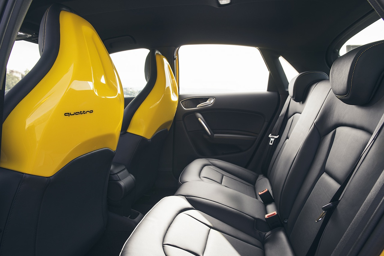 Audi S Sportback Quattro Rear Seat