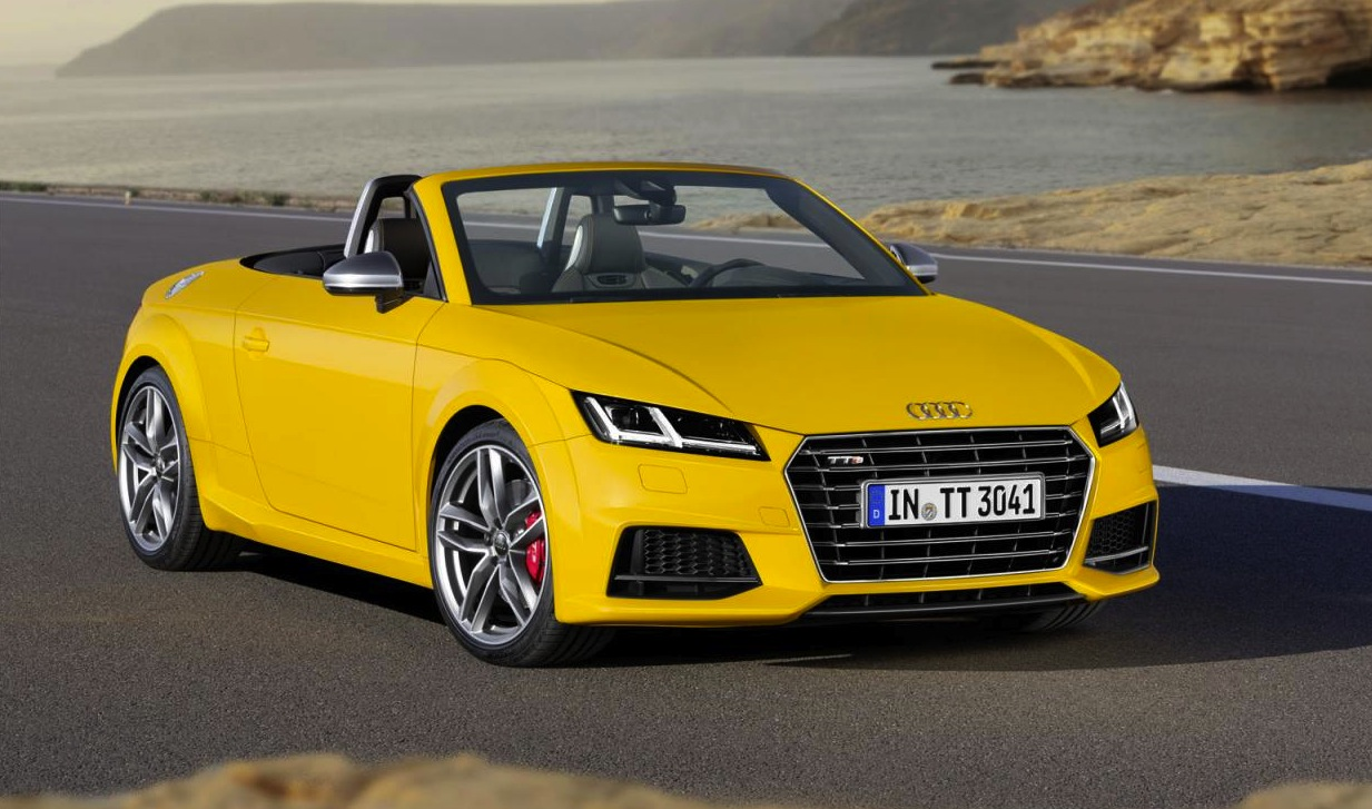 2015 audi tt tt s roadster revealed lighter more powerful performancedrive. Black Bedroom Furniture Sets. Home Design Ideas