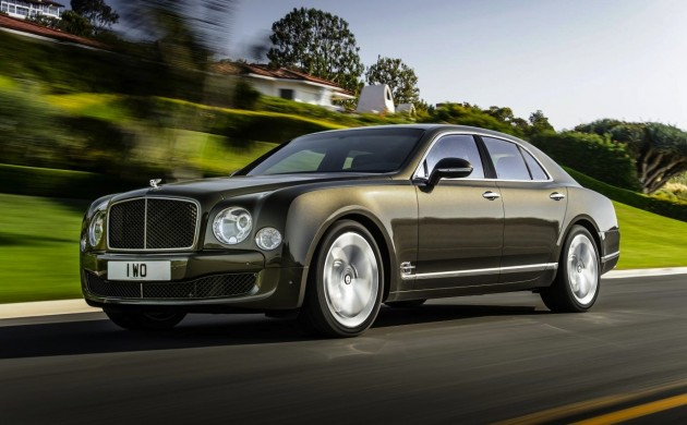 2015 Bentley Mulsanne Speed-front