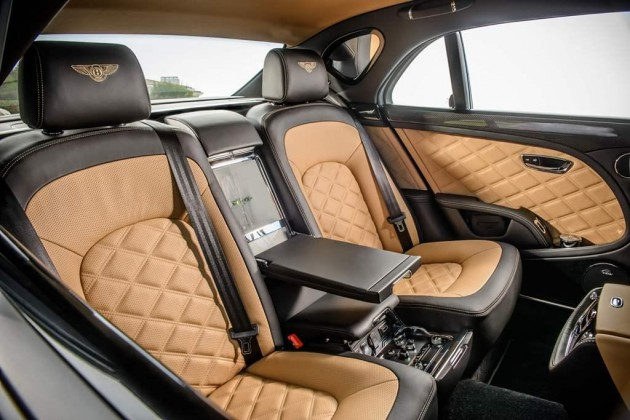 2015 Bentley Mulsanne Speed-rear seats