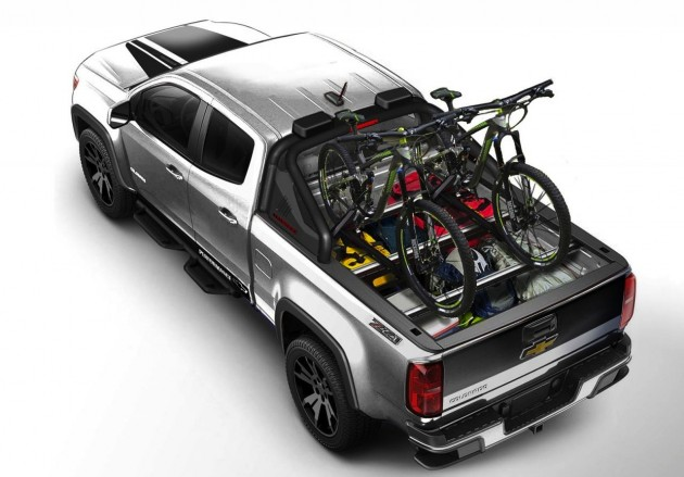 2015 Chevrolet Colorado Sport concept-tray