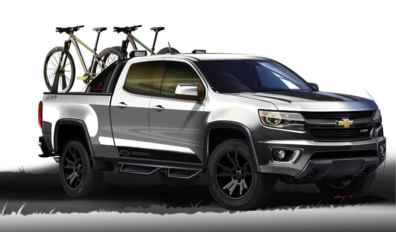 2015 Chevrolet Colorado Sport concept shows potential