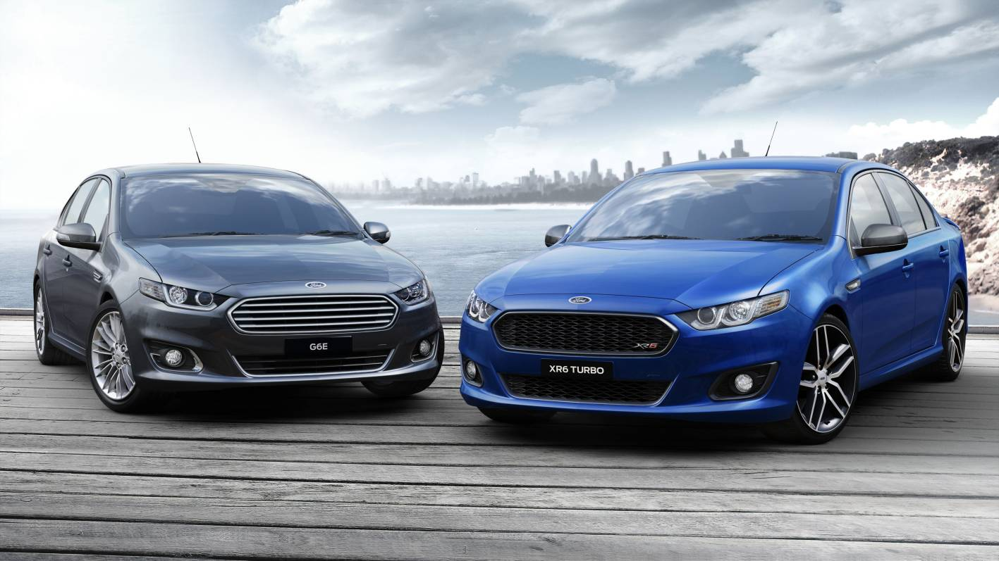 2015 ford falcon lineup confirmed 270kw for xr6 turbo. Black Bedroom Furniture Sets. Home Design Ideas
