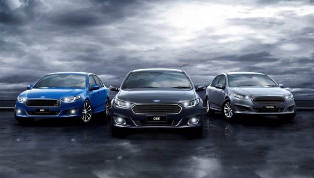 2015 Ford Falcon range