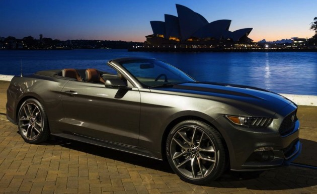 Ford Mustang on Sydney Harbour Foreshore