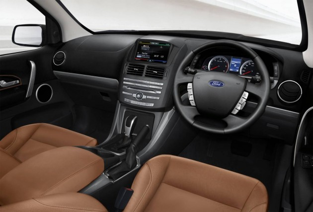 2015 Ford Territory interior