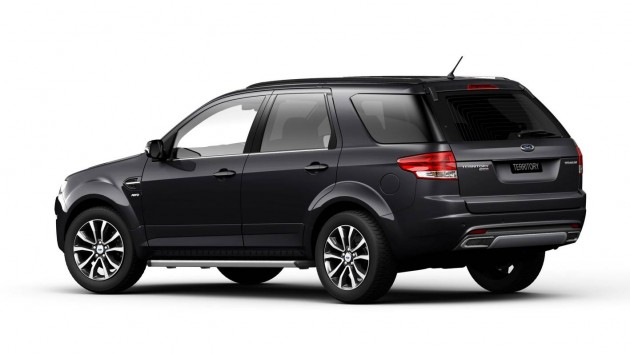 2015 Ford Territory rear