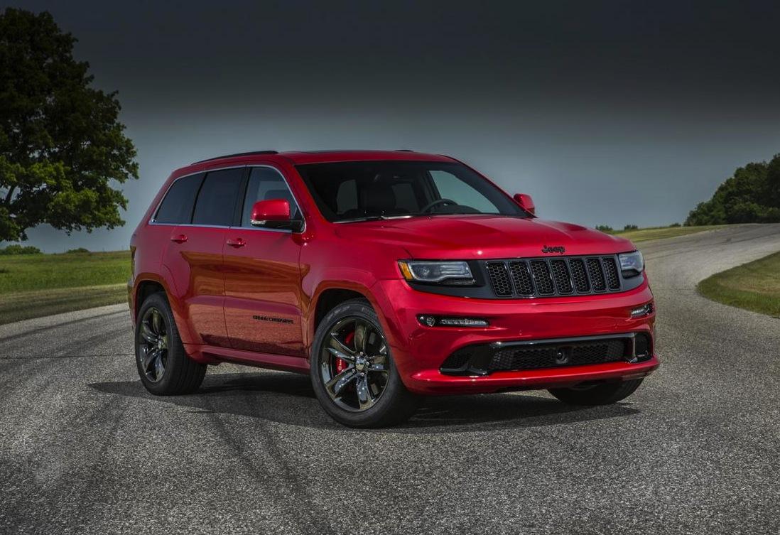 2015 jeep grand cherokee srt revealed more power performancedrive. Black Bedroom Furniture Sets. Home Design Ideas