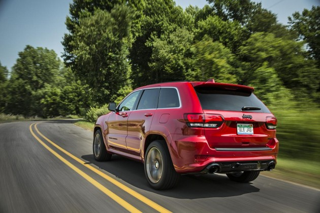 2015 Jeep Grand Cherokee SRT-rear